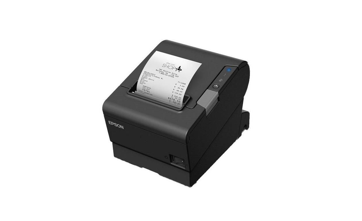 Epson TM-T88VI Mono Thermal Receipt Printer LAN USB Serial C31CE94061