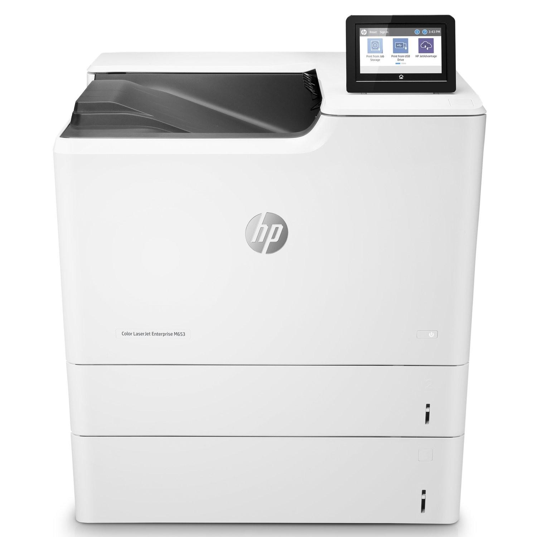 HP J8A05A#BGJ LaserJet Enterprise Color M653x Wireless USB LAN Duplex Printer