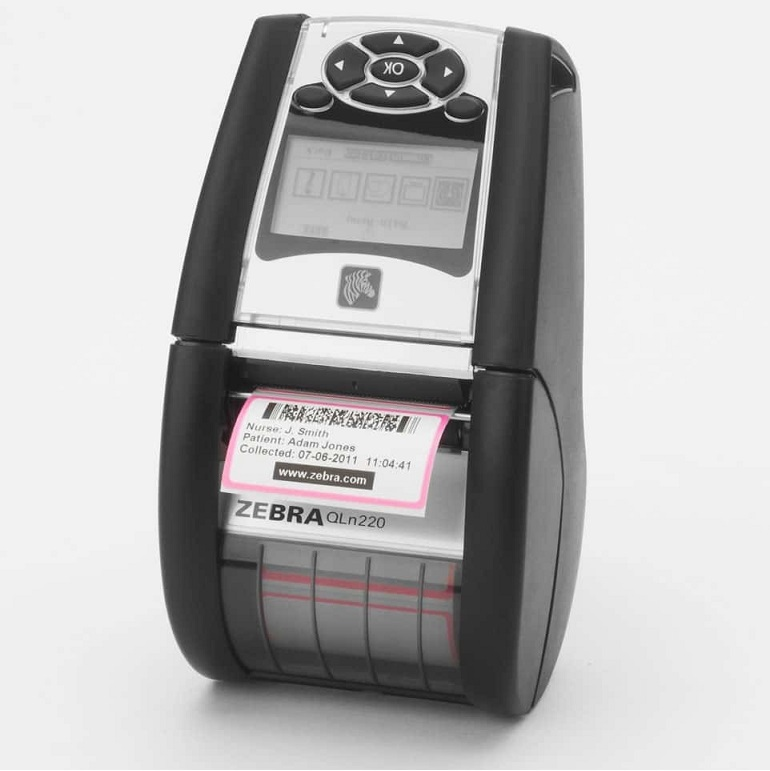 Zebra Qln 220 Label Monochrome 203dpi USB Direct Thermal Printer QN2-AUCB0M00-00