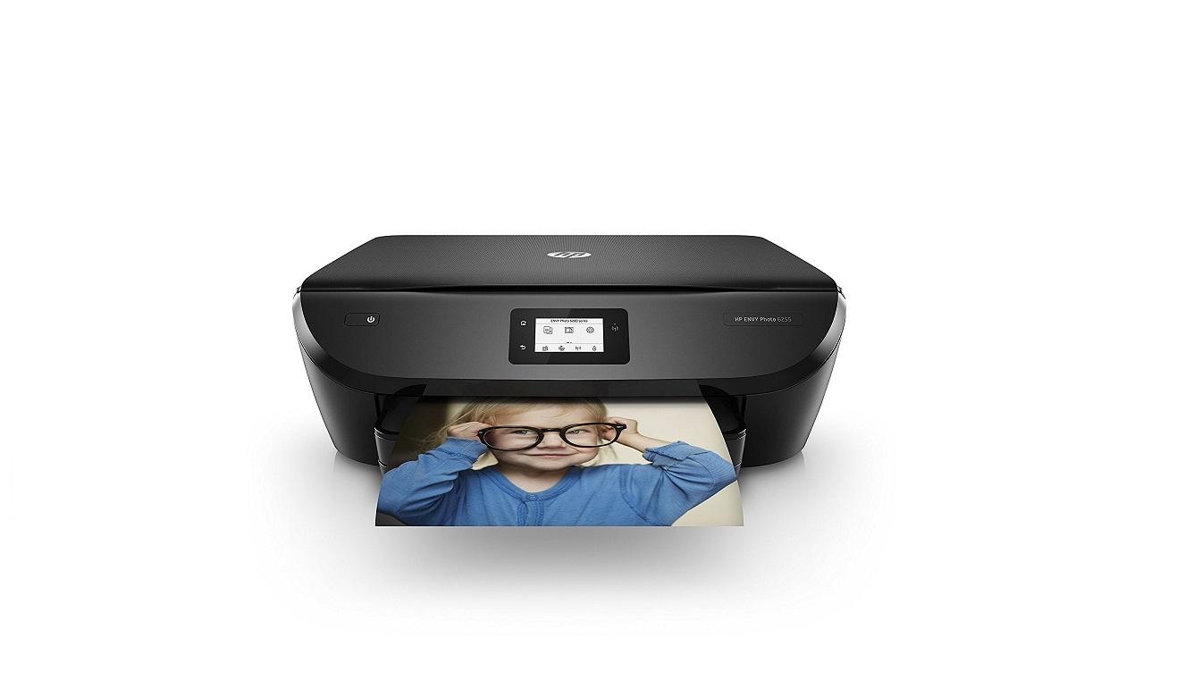 HP Envy Photo 6255 All in one Wireless Photo Printer Black K7G18A#B1H K7G18A