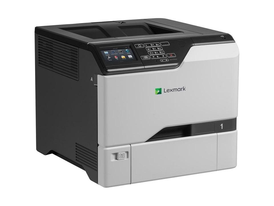Lexmark CS725de Color Laser Duplex Printer USB Ethernet 40CT018 (Demo 81 Pages Used)