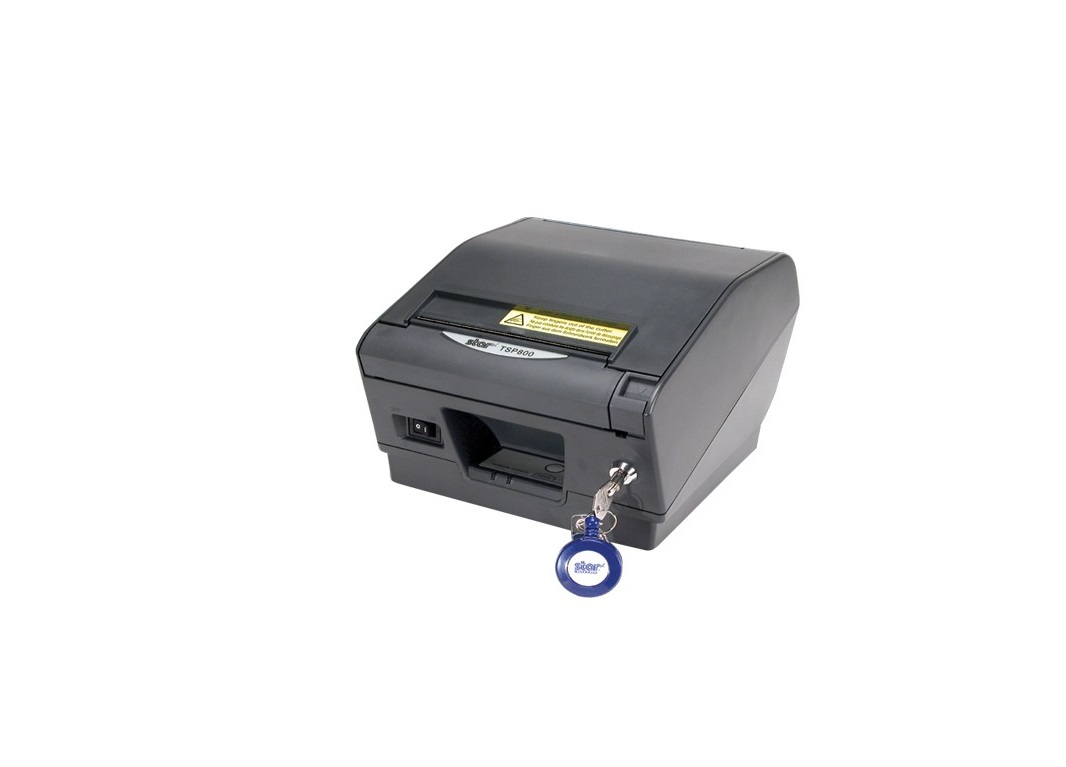 Star Micronics TSP800II Series TSP847IIE3-24 Thermal Printer Paper Lock Auto Cutter Ethernet 39441132
