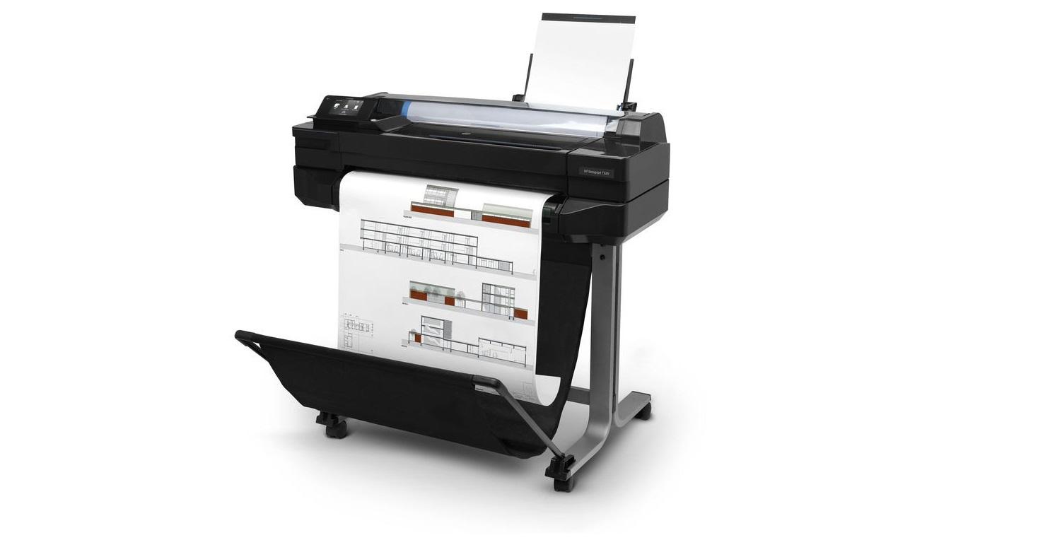 HP DesignJet T520 36 Large-Format 1200dpi USB LAN Wi-Fi InkJet Printer CQ893C#B1K