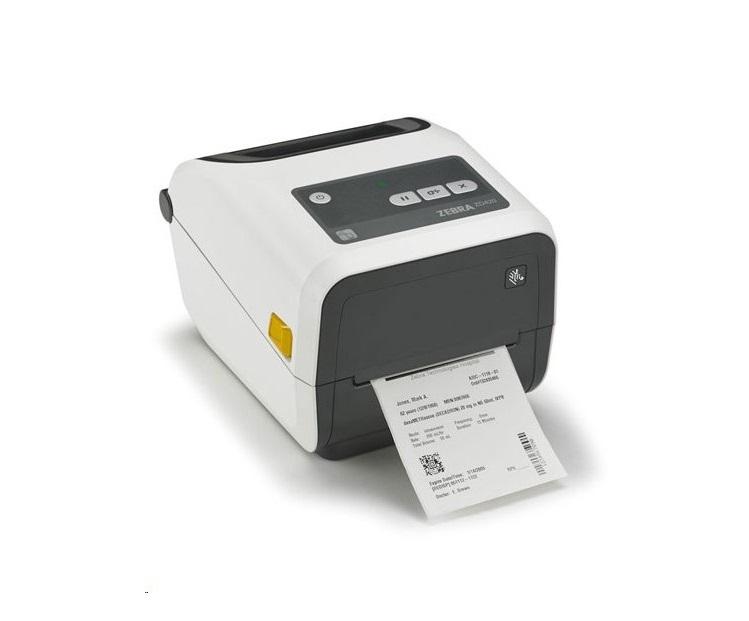 Zebra ZD420 Healthcare Monochrome 203dpi Thermal Label Printer BT USB Ethernet ZD42H42-T01E00EZ