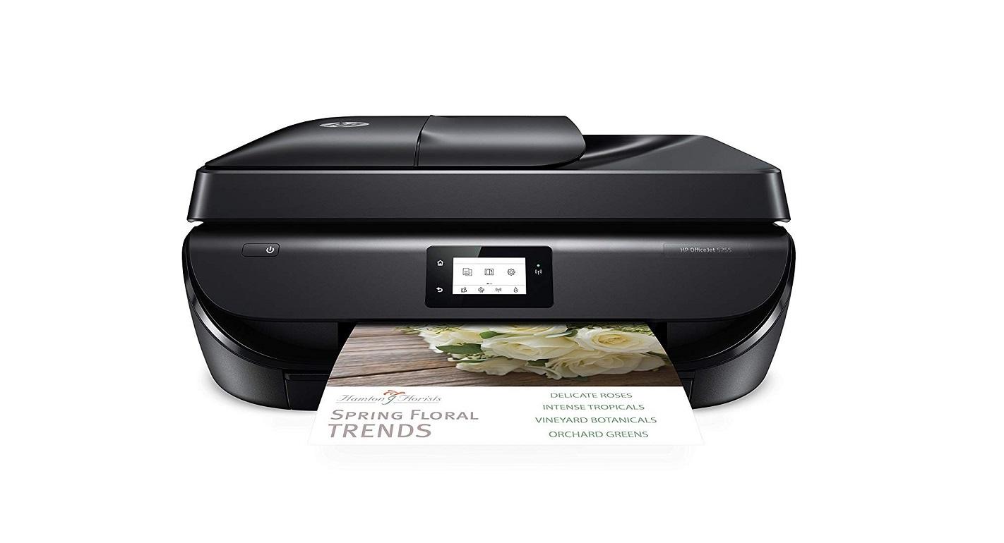 HP OfficeJet 5255 Wireless All-in-One Color InkJet Printer USB M2U75A#B1H