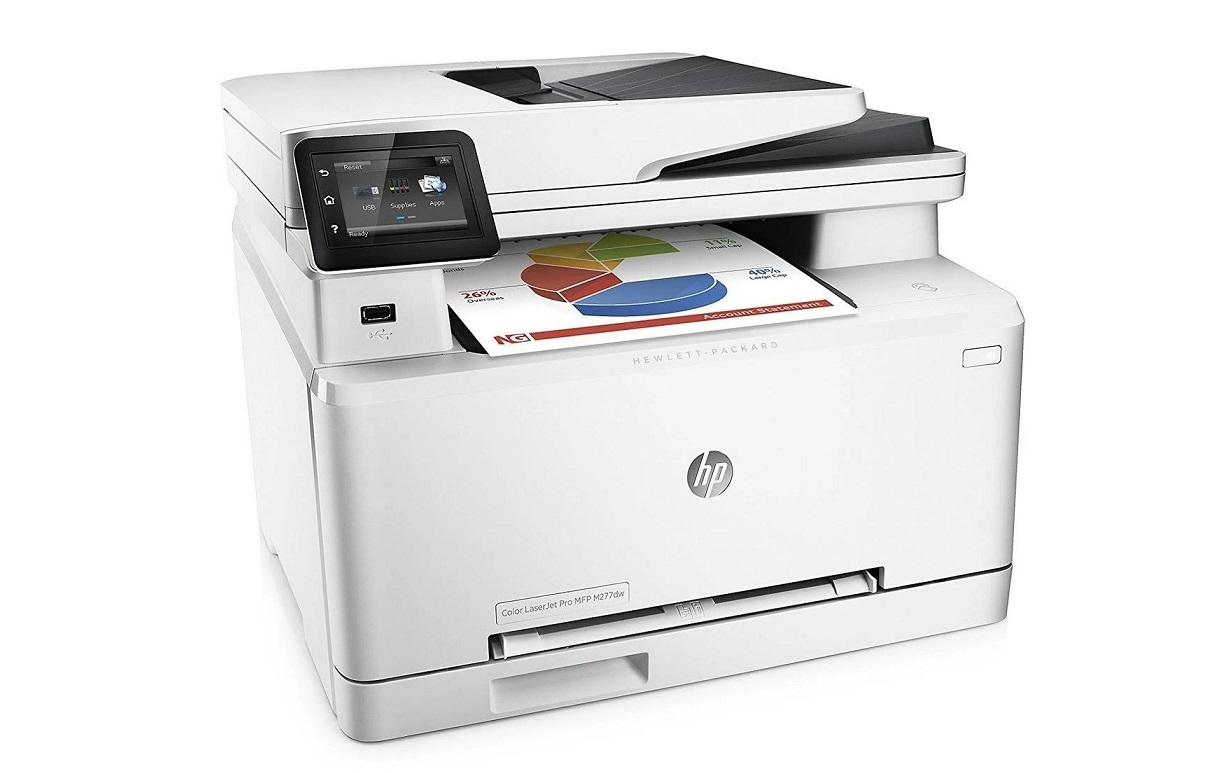 HP Color LaserJet Pro MFP M281cdw 22ppm 600dpi USB LAN Color Laser Printer T6B83AR#BGJ Demo 433 Pages Used