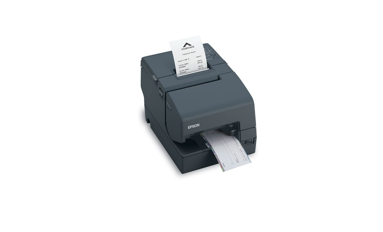 Epson TM-H6000IV 180dpi Monochrome USB Parallel Dark Grey Receipt Printer (Requires P/S) C31CB25422