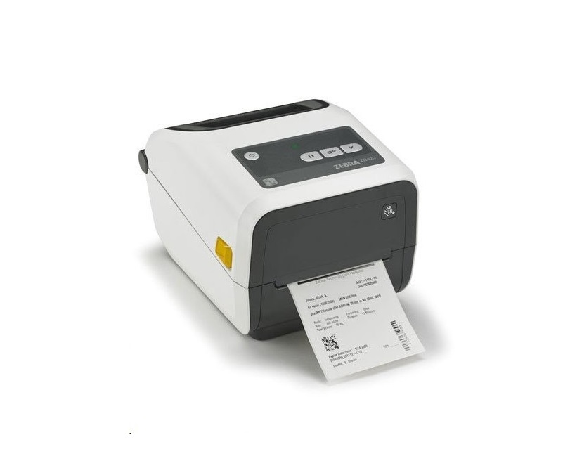 Zebra ZD420-HC Healthcare Thermal Transfer BarCode Printer USB Ethernet ZD42H43-C01E00EZ
