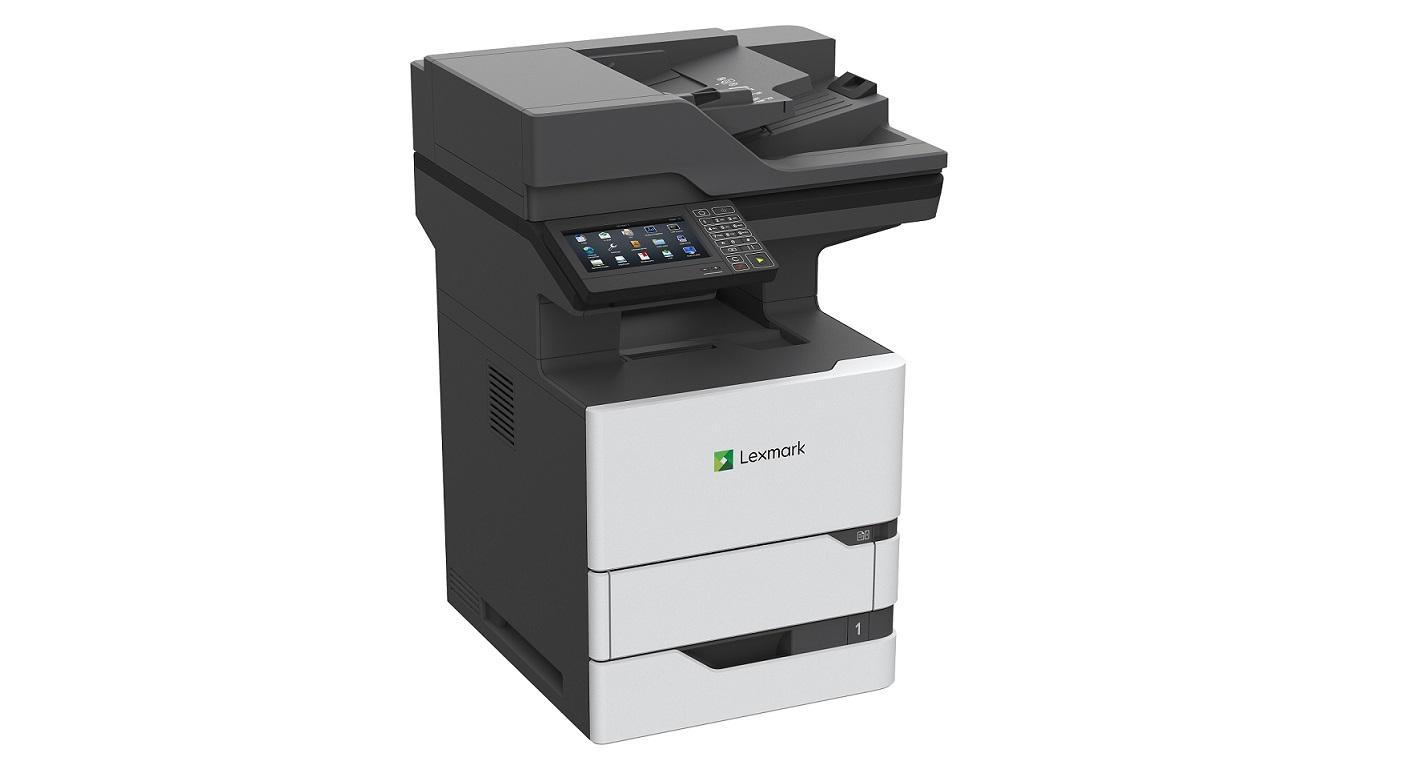 Lexmark MX722adhe 70ppm Mono Duplex LAN USB Laser Printer 25B0001 (Demo 22 Page Used)