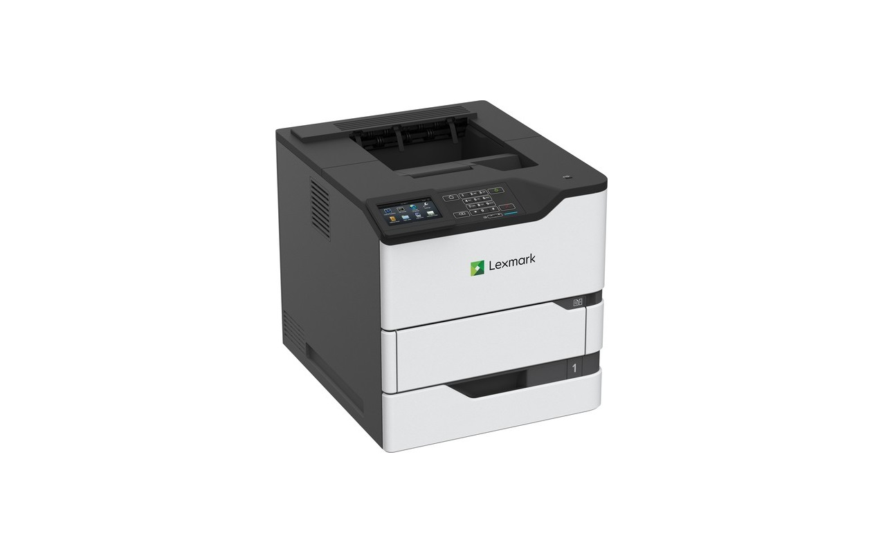 Lexmark 50G0110 MS822de 55ppm 1200dpi Duplex Monochrome Printer (Demo 1654 Pages Used)