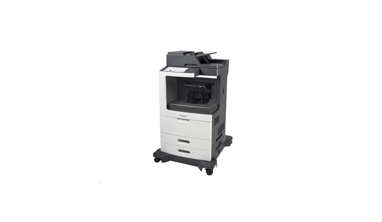 Lexmark MX810de Up To 55ppm Monochrome USB LAN Laser Printer 24TT107 (Demo 74 Pages Used)