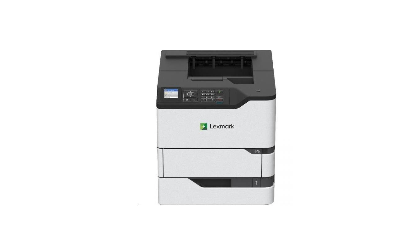Lexmark MS821dn Up To 55ppm Duplex USB LAN Mono Laser Printer 50G0100