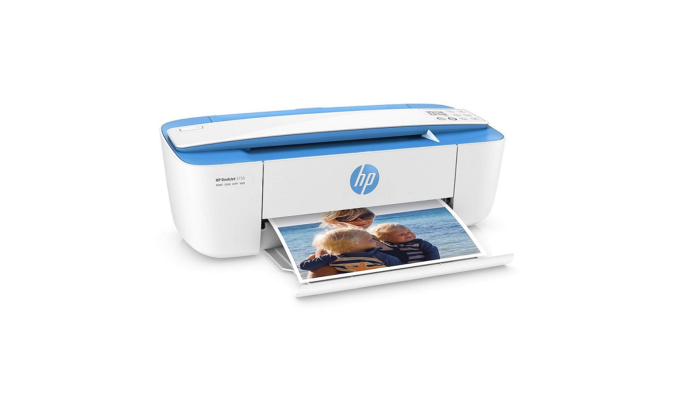 HP J9V90A#B1H DeskJet 3755 USB Wireless All-in-One Printer