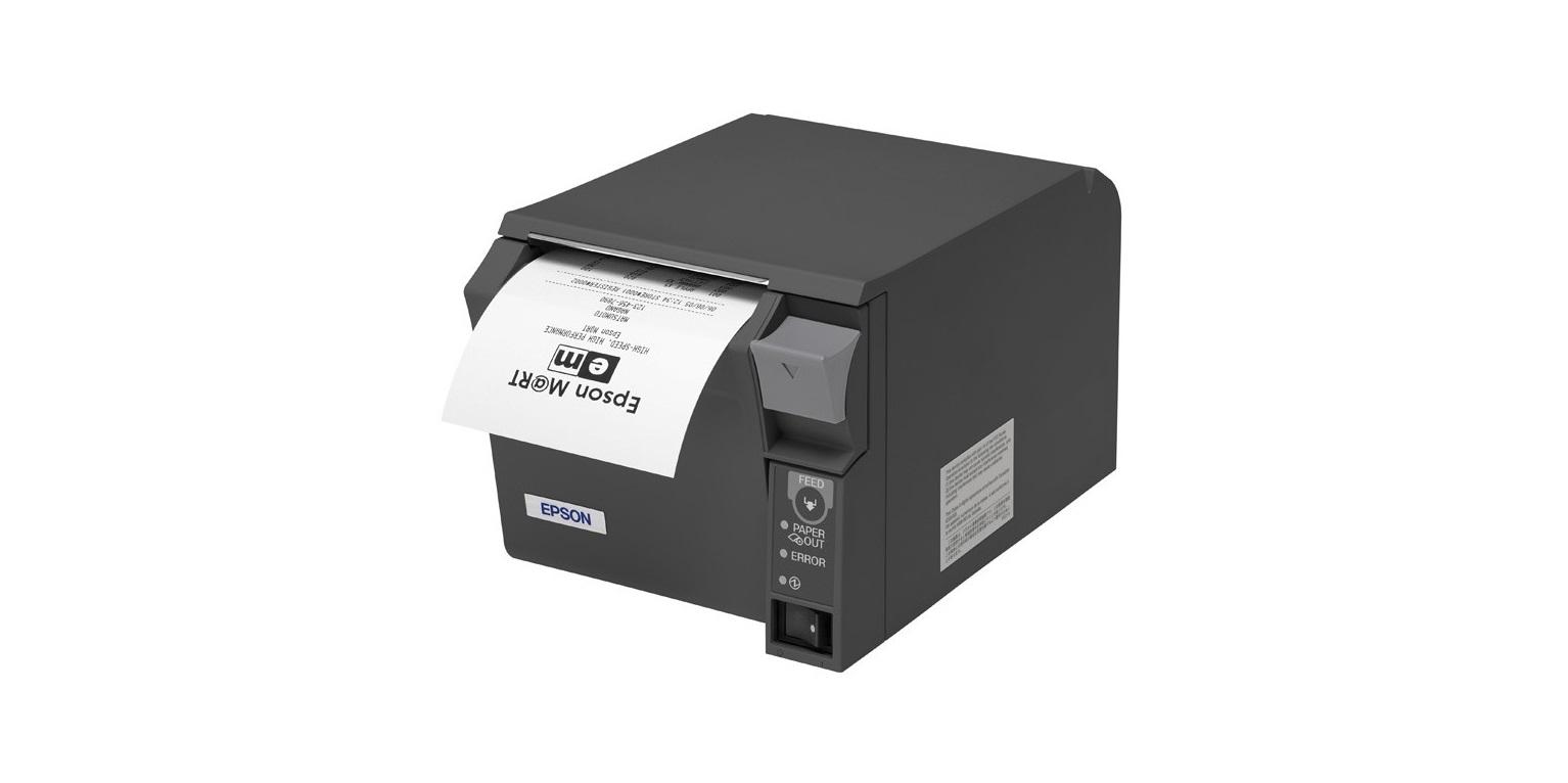 Epson TM T70II Thermal Line Mono Serial USB Receipt Printer C31CD38134