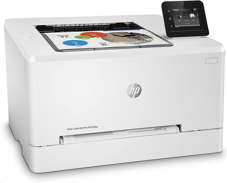 HP Color Laser Jet M254dw 220V 600dpi Duplex USB LAN Laser Printer T6B60A#B19