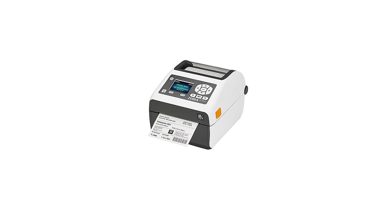 Zebra ZD620-HC ZD62H43-D01F00EZ 300dpi Mono DT Serial USB LAN BT Label Printer
