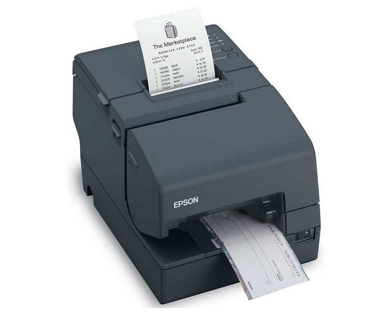 Epson TM-H6000iv Thermal Dot-Matrix Monochrome Printer No Micr USB Serial (Ps-180 Not Included) C31CB25015