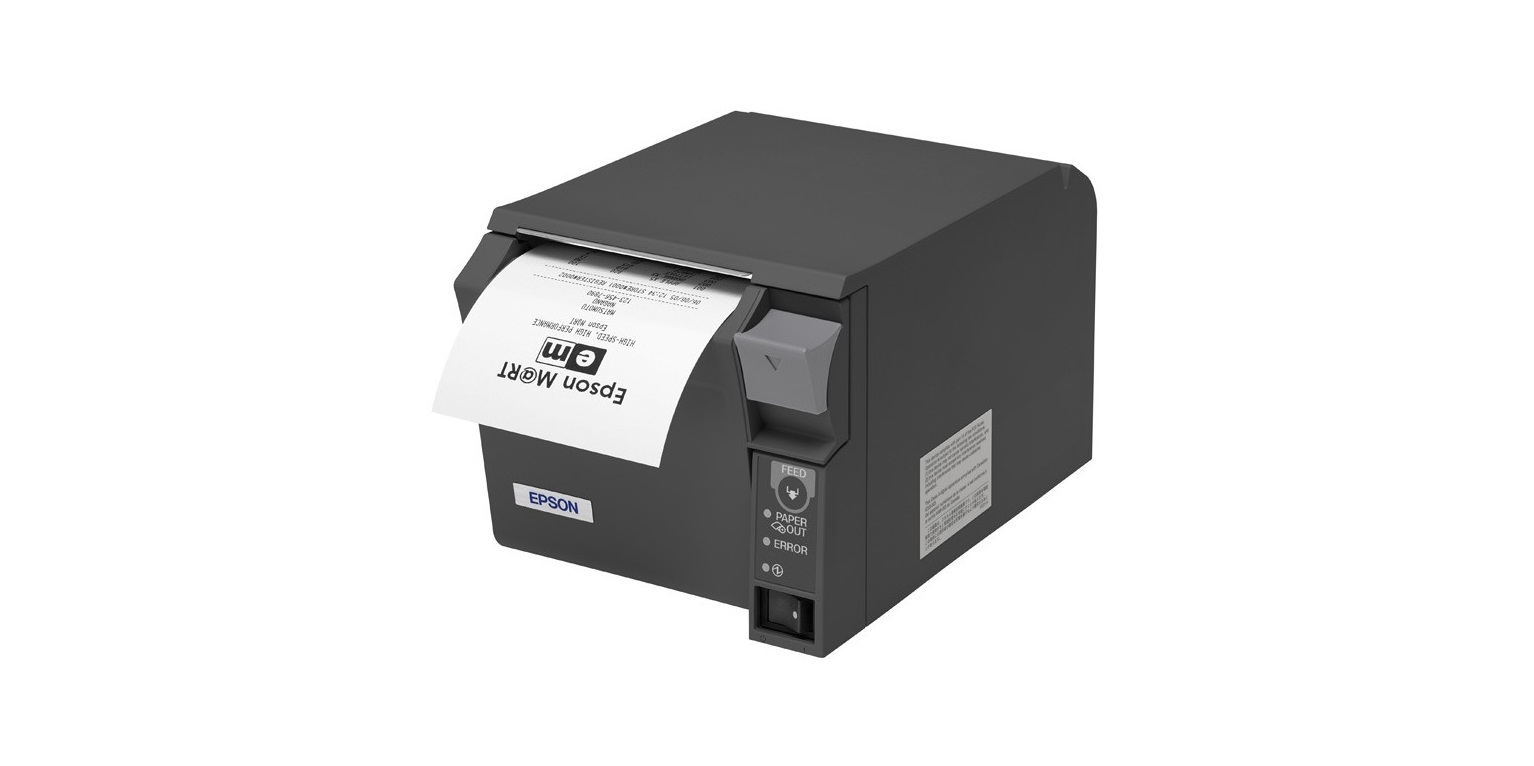 Epson TM T70II Thermal Line Mono Serial USB Receipt Printer C31CD38134