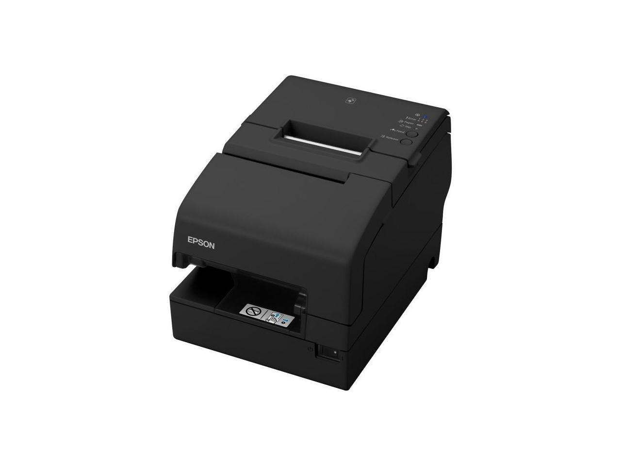 Epson C31CG62032 TM-H6000V USB RS232 LAN Receipt Printer w/ Micr & Endorsement S01 PS-180