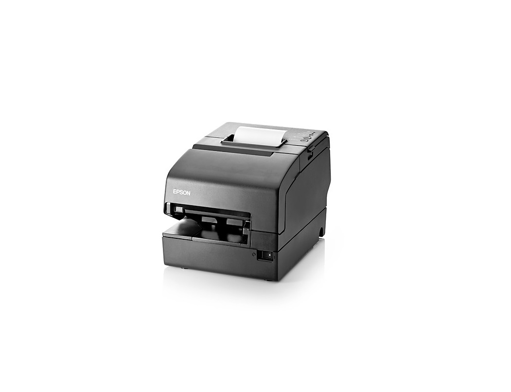 HP Epson D9Z51AT TM-H6000IV Hybrid Pos Dot-Matrix Monochrome Printer PoweredUSB USB (REG. P/S) Black
