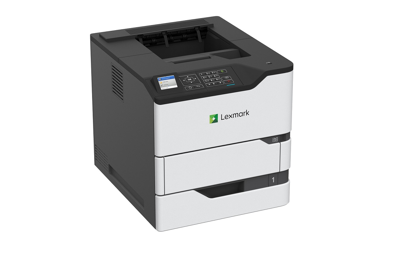 Lexmark MS823n Mono Duplex Up To 65ppm USB LAN Laser Printer 50G0180