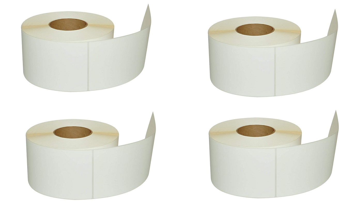 Compulabel Thermal Transfer 4x6 Permanent Shipping Labels 4-Pack 649326 900/ Per Roll
