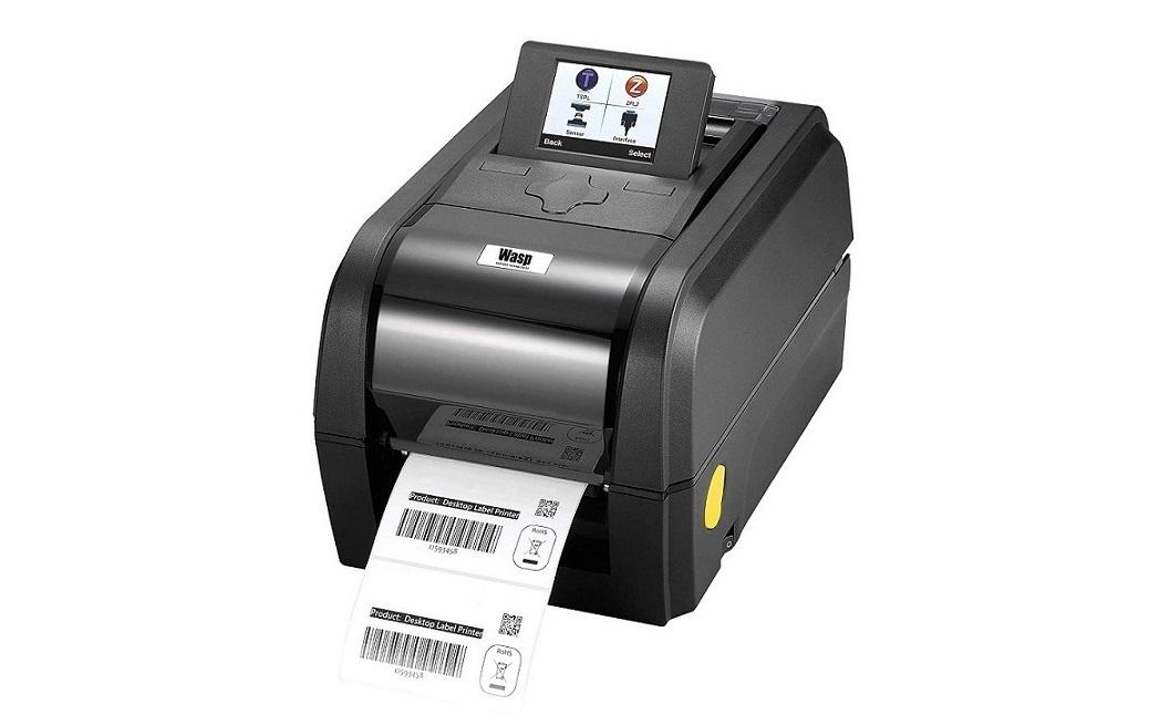 Wasp Barcode WPL308 Thermal Transfer Label Monochrome Printer 203dpi Usb Serial Ethernet 633809003226