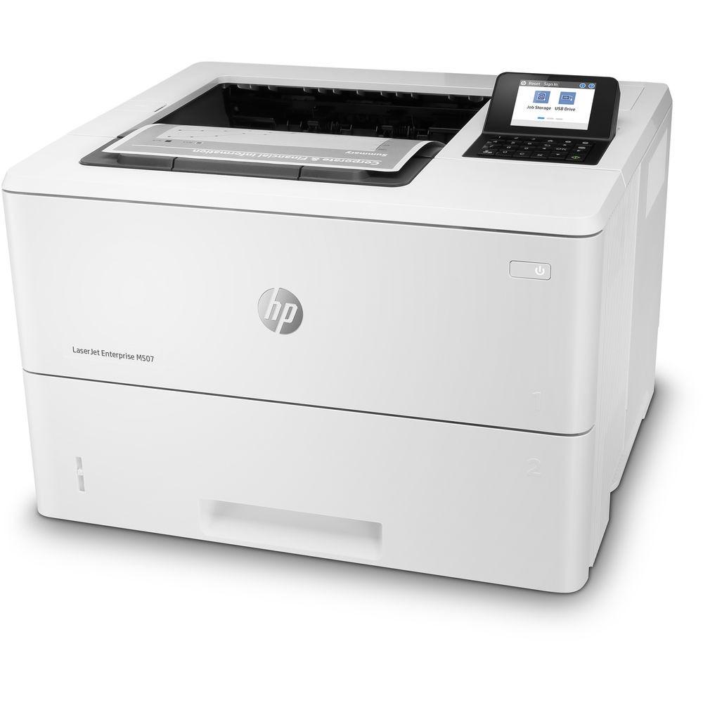 HP LaserJet Enterprise M507n Mono USB LAN Laser Printer 1PV86A#BGJ ( Unused )