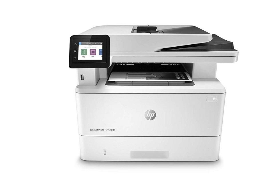 HP LaserJet Pro MFP M428fdw Wireless Monochrome Laser MultiFunction Printer W1A30A#BGJ