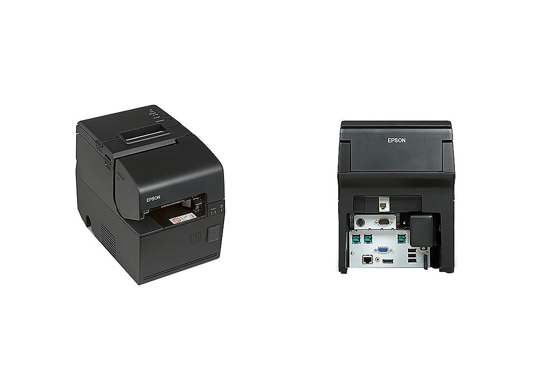 Epson Omnilink H6000IV-DT 1.86GHz 4GB 500GB Serial VGA DP USB LAN Intelligent Pos Printer C31CD83A9881