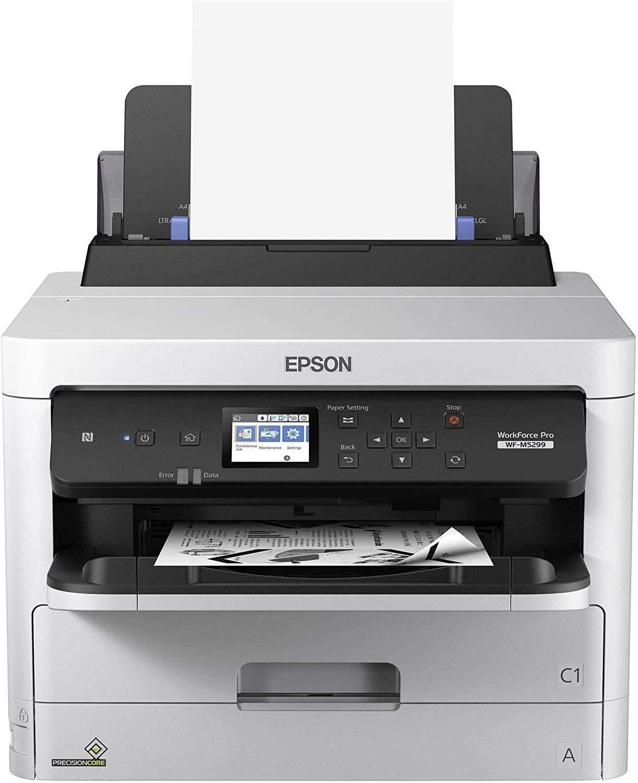 Epson WF-M5299 Mono Usb Lan Inkjet Wireless Printer C11CG07201