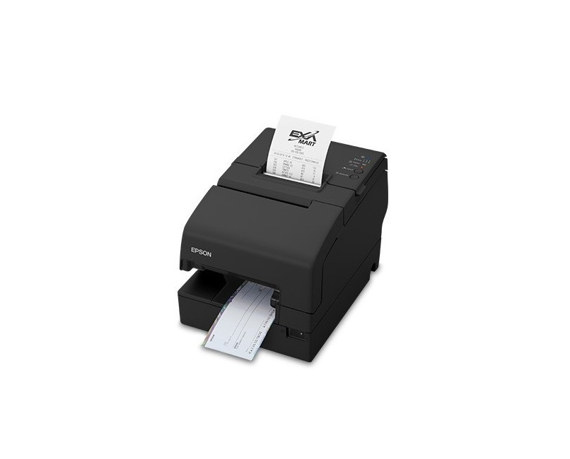 HP Epson TM-H6000V Monochrome Thermal Receipt Pos Printer 4ZE21AA PoweredUSB USB LAN Printer Req P/S