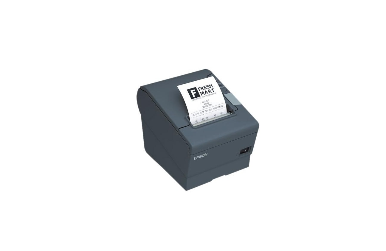 Epson TM-T88V DT Mono Printer Auto-Cutter PoweredUSB USB Black C31CA85A6641 (No P/S)