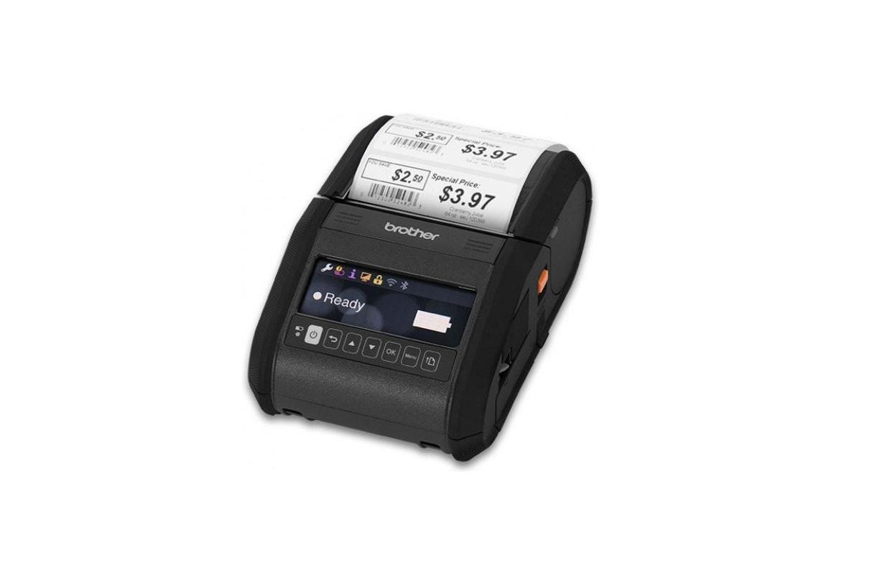 Brother RJ3150AI DT USB Wi-Fi BT Portable 203dpi Label Printer RJ-3150AI
