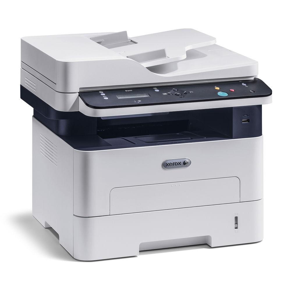 Xerox B205/NI Monochrome Wireless Ethernet USB MultiFunction Laser Printer B205NI
