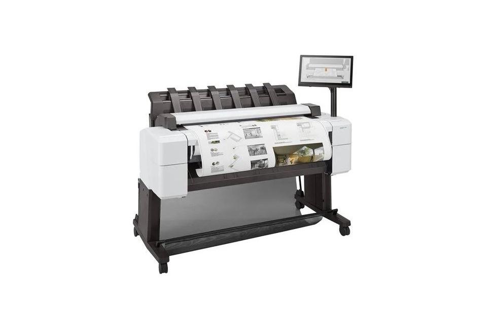 HP DesignJet T2600 PostScript Color Ink-Jet 36 MultiFunction Large Format Printer 3XB78A#B1K