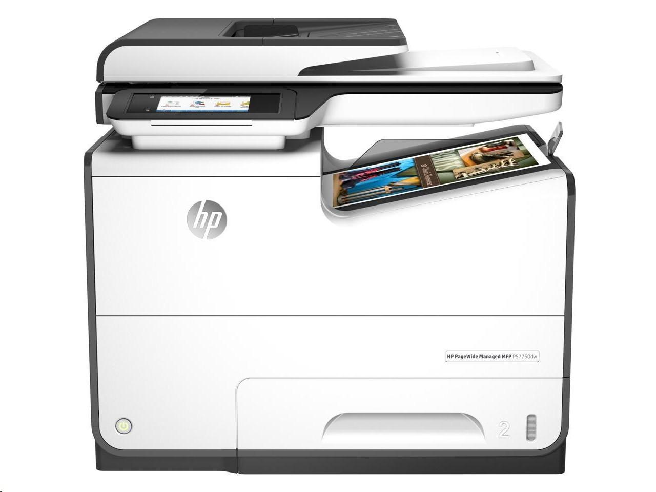 Hp Pagewide P57750dw Duplex Usb Lan Inkjet Printer J9V82A#B1H