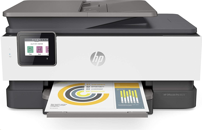 HP OfficeJet Pro 8025 All-in-One Wireless USB LAN InkJet Printer 1KR57A#B1H