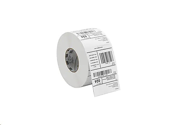Zebra Genuine Z-Perform 1000D DT Direct Thermal 2.5x1.5 BarCode Label 3-Pack 10033258