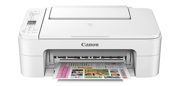 Canon Pixma TS3120 Wireless All-in-One Inkjet Printer White 2226C023