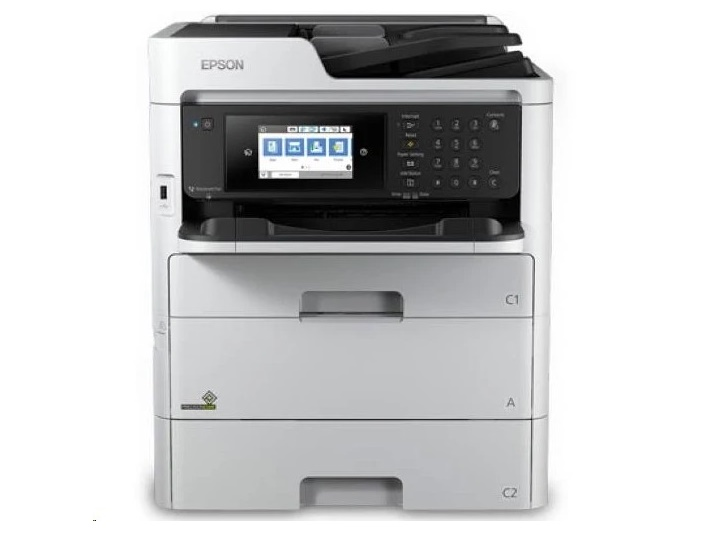 Epson Workforce Pro WF-C579R Workgroup Color Mfp Wireless All-in-One Printer C11CG77201BU (Unused)