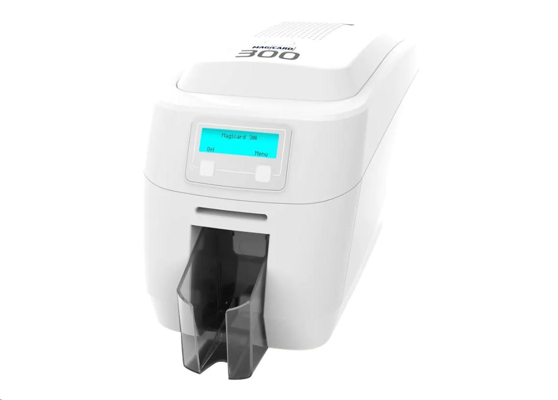 Magicard 300 Duo Double-Sided 300dpi Usb Lan Id Card Printer 3300-0021/2