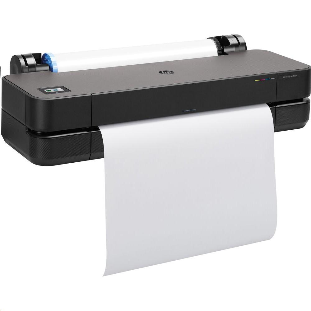 Hp Designjet T230 24 Large Format Wireless Plotter Printer 5HB07A#B1K