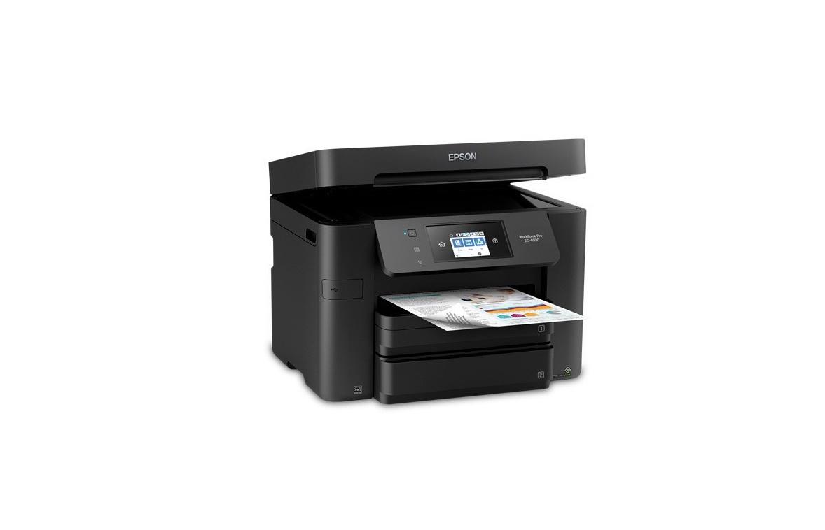 Epson Workforce Pro EC-4030 Color USB LAN Wireless MultiFunction Printer C11CG01205