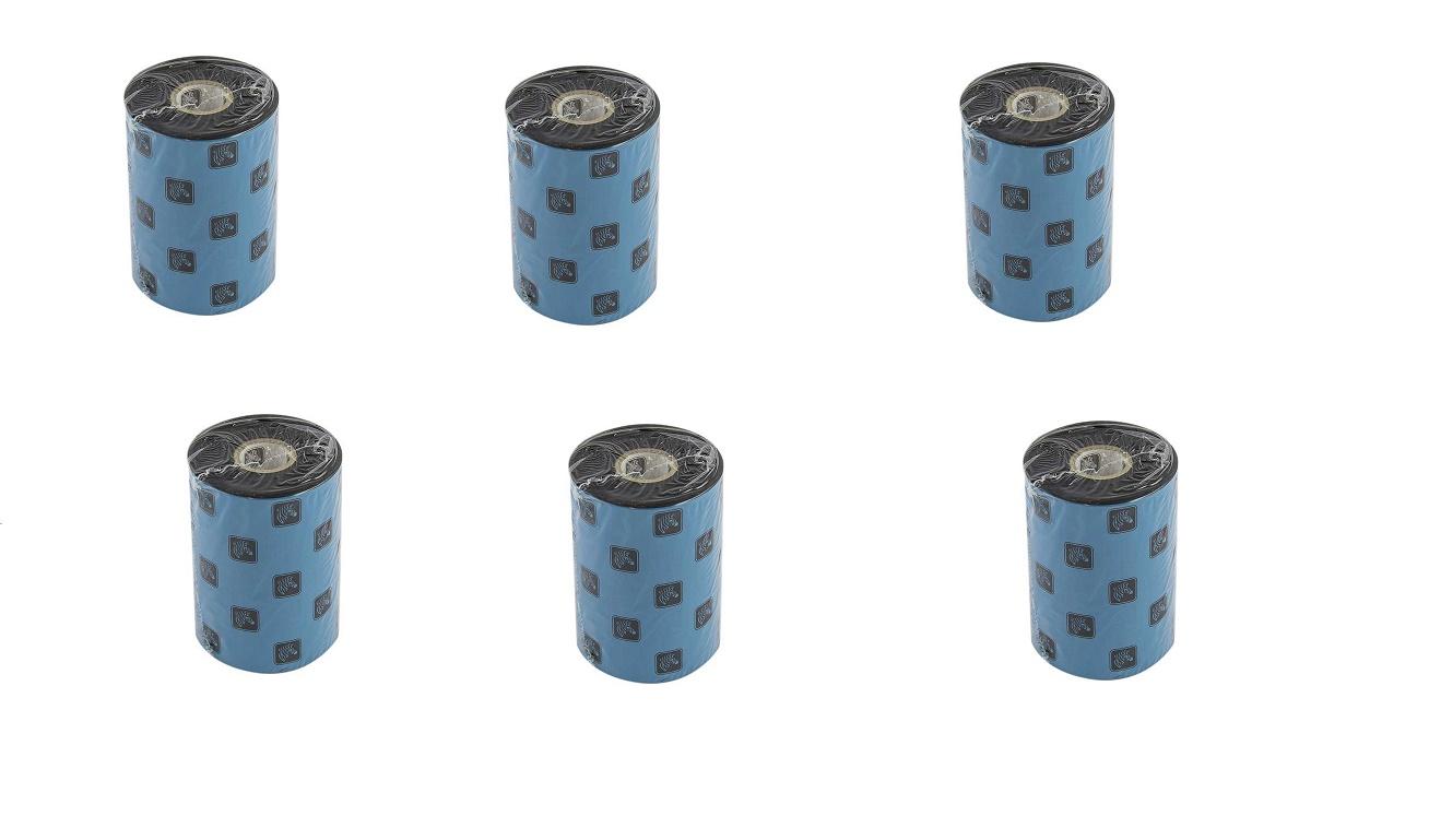 Zebra Genuine 5095 3.27x1476' Black Resin Ribbon 6-Pack 05095BK08345 (New Sealed)