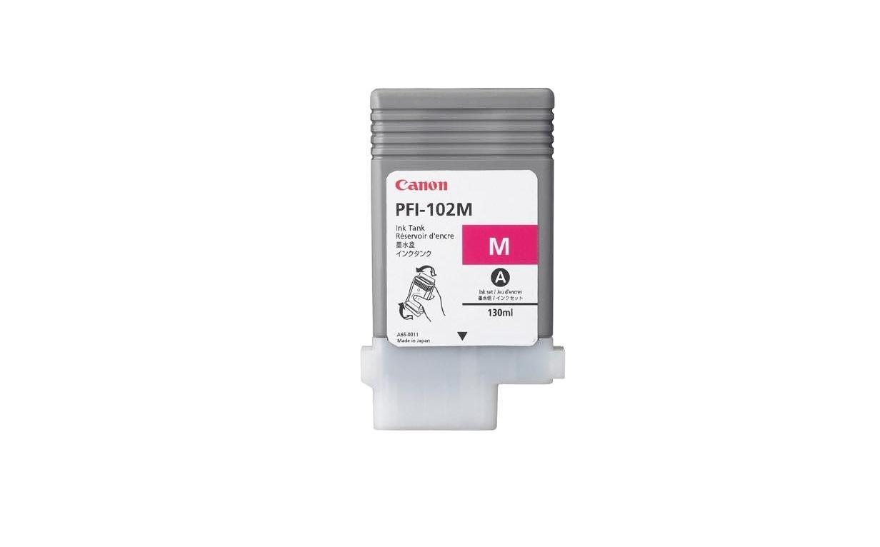 Canon Genuine Magenta Ink Tank 130ML For IPF500 IPF600 IPF700 0897B001 0896B001AA