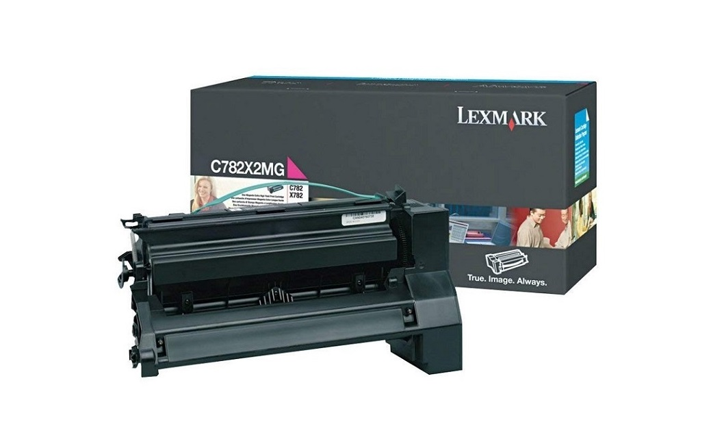 Lexmark Magenta Lasr Toner Cartridge For C780 782 X782 C782X2MG