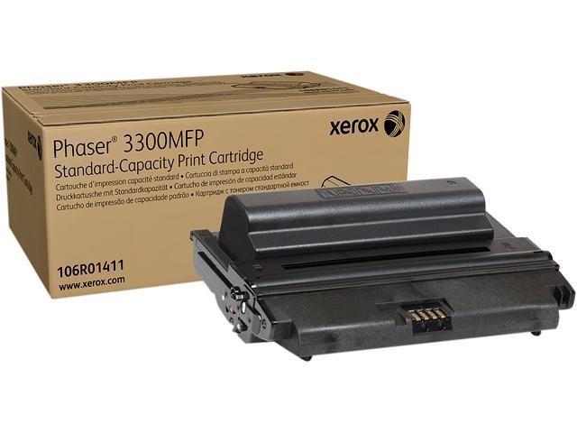Xerox Genuine 106R01411 Standard Capacity Print Cartridge For Phaser 3300MFP