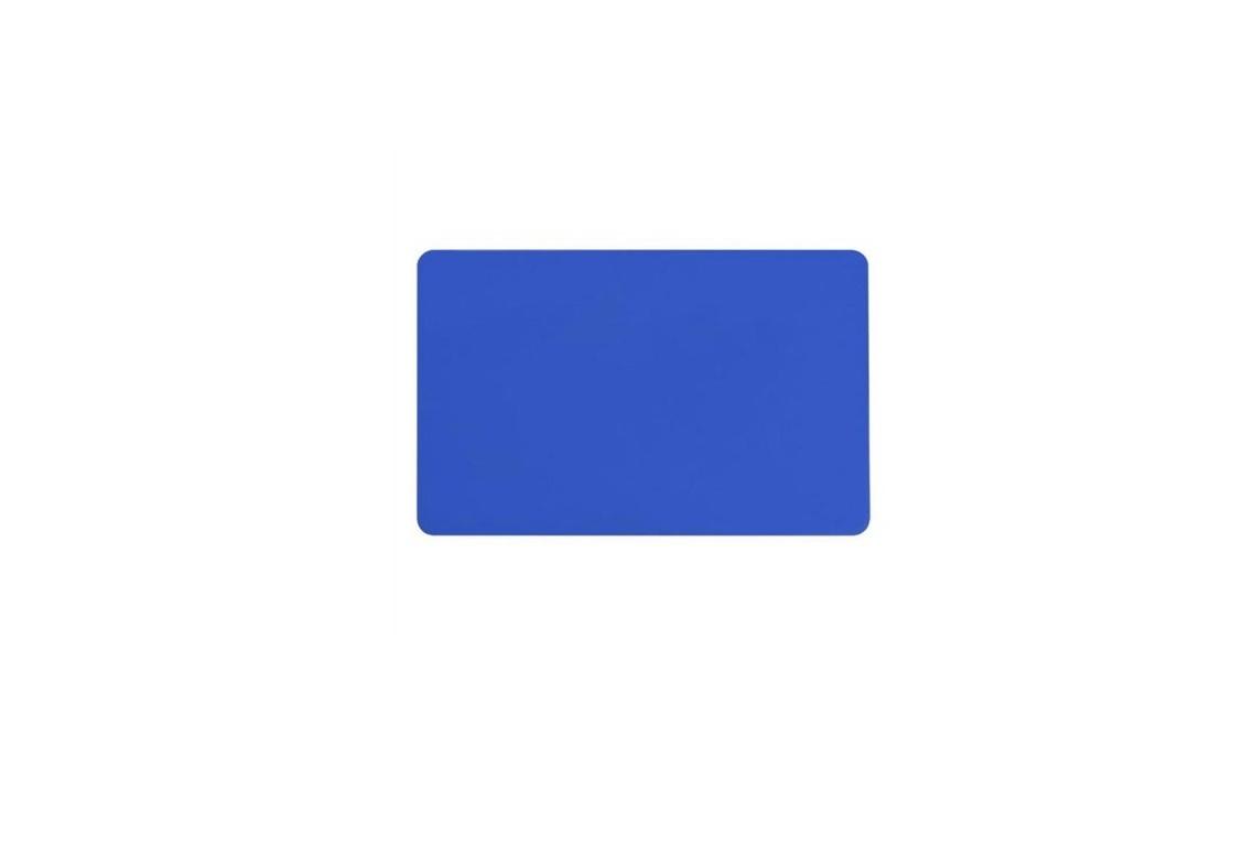 Zebra 104523-134 Blue PVC 30 Mil Pack of 500 Cards 104523-134
