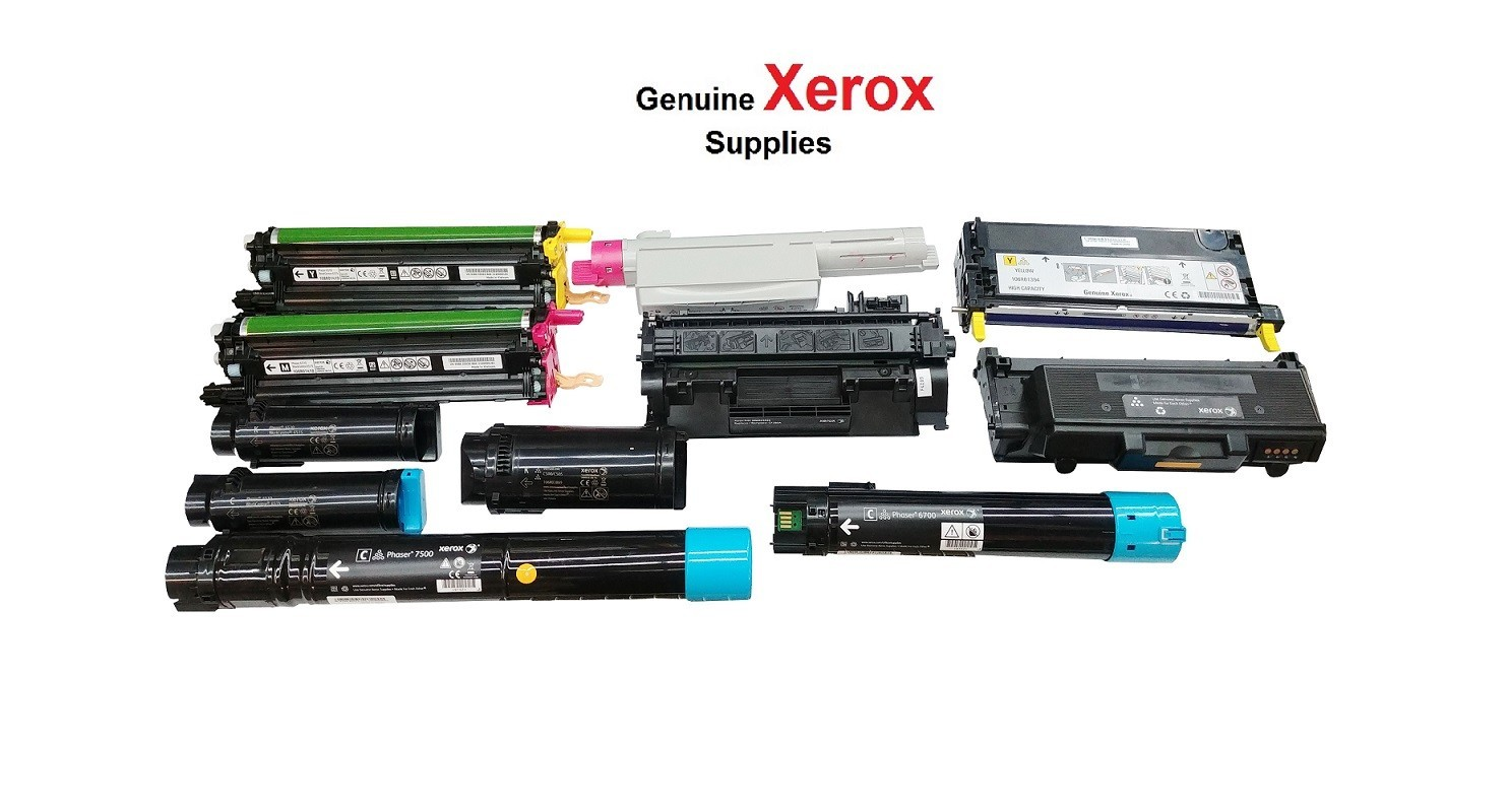 Xerox Genuine High Capacity Cyan Toner Cartridge 106R01594 2.5K Pages For Phaser 6500 WorkCentre 6505